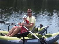<h2>Disney Brook </h2><p>Family fun on Disney Brooks Pond.</p>