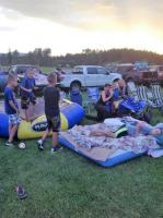 <h2>Canada Day at Disney Brook</h2><p>Getting comfy for Out Door Movie</p>